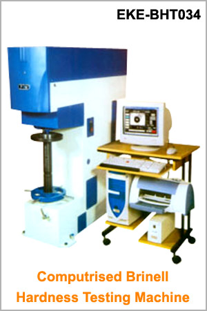 Computerised Brinell Hardness Testing Machine : EKE-BHT034