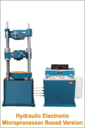 Hydraulic Electronic Microprocessor Based Universal Testing Machine