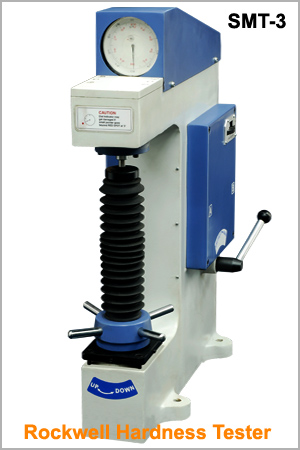 rockwell hardness machine